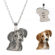 Silhouette Necklace-925 sterling silver