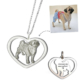 Heart Necklace-925 sterling silver